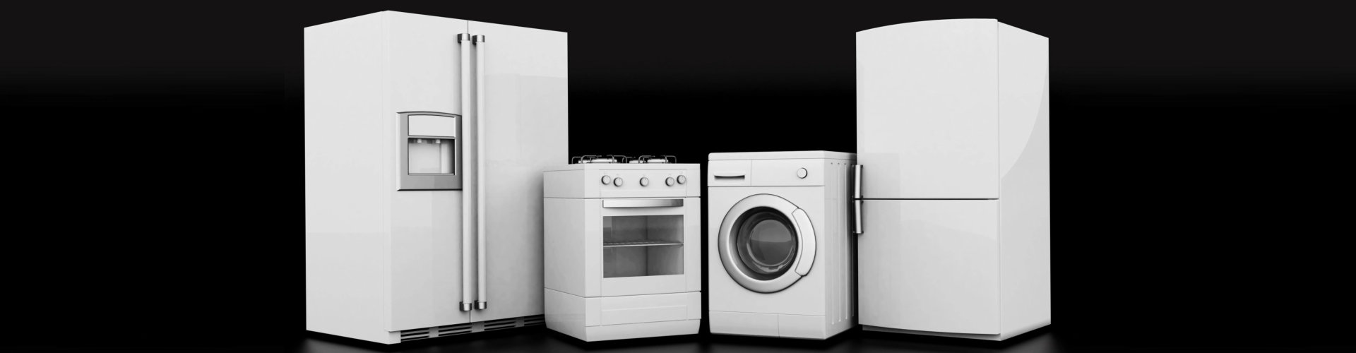 refrigerators and wash dryers